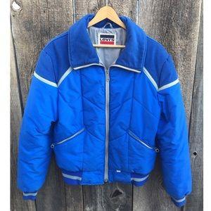 VTG 80s Levi's Sportswear Puffer Jacket, M, RARE!